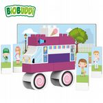 BiOBUDDi - Ice Cream Van - Eco Friendly Block Set - 27 Blocks